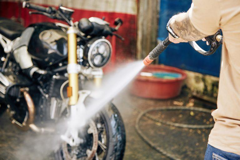 mycie motocykla